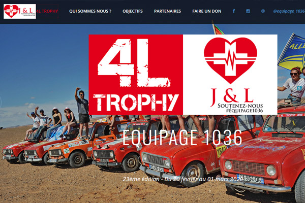 Equipage 1036 - 4L Trophy